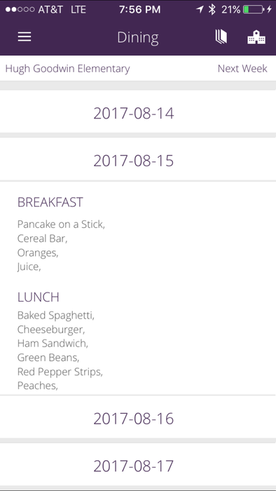Mobile_app_HG_Dining_menu